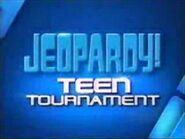 Jeopardy! Season 25-26 Teen Tournament Title Card