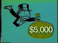 Monopoly $5000