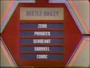 Beetle Bailey Puzzle