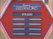 Super Password Strange