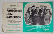 Pantomime Quiz Game Booklet 2