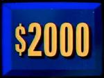 $2000 3