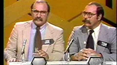 Blockbusters (October 31, 1980) Bill vs Joe Tom Part 1