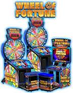 Wheel of fortune vertical slide