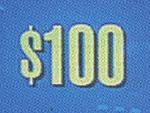 $100 1