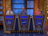 Jeopardy! first metallic contestant podiums