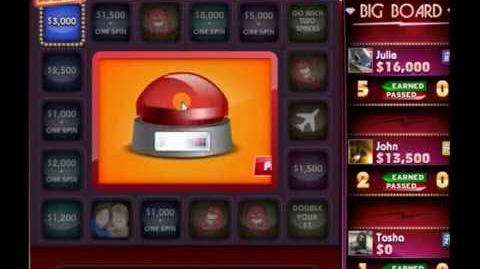Me playing Press Your Luck Facebook!