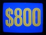 Jeopardy! 1984-1991 $800 figure