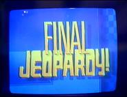 Jeopardy! 1989 Final Jeopardy intertitle
