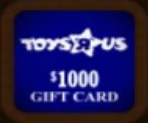 Toys R Us Gift Card ($1000)