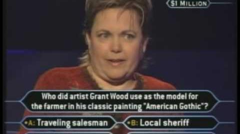 Nancy Christy's Million Dollar Question - Who Wants to be a Millionaire Classic Format