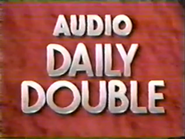 Audio Daily Double -9