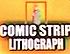 Comic Strip Lithograph