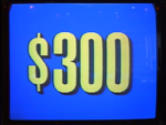 Jeopardy! 1991-1996 set $300 figure