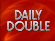Jeopardy! 1992-1993 season Daily Double title card