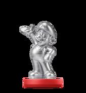 Amiibo SM Silver Mario