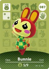Amiibo AC Bunnie card