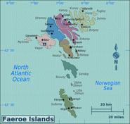 Map - Faroe Islands