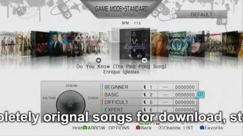 DanceDanceRevolution PS3 Xbox360 HD