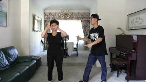 Mom Dances Gangnam Style