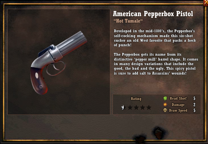 American Pepperbox Pistol