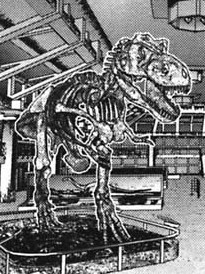 Skeleton T-rex Alien