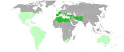 Fennel geographical distribution