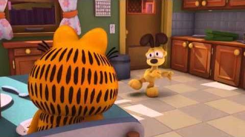 Body Swap The Garfield Show Cartoon Network