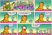 Garfield considers earing mice