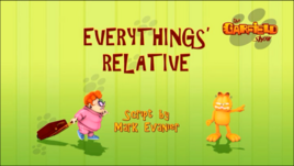 Everything's Relative Title Card