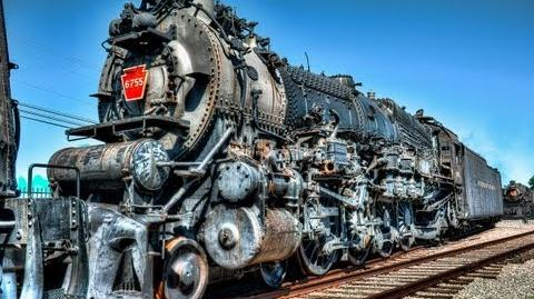 Old Abandoned Looking and Restored Trains Locomotives at Pennsylvania Railroad Museum