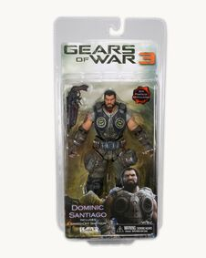 Gears of war 3 Dominic Santiago action figure