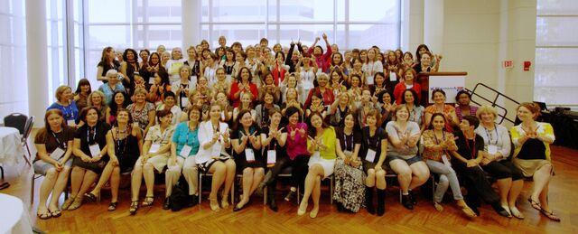 File:WikiWomen's Lunch, Wikimania 2012.jpg