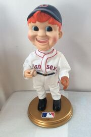 2002 GEMMY SPORTS ANIMATED LIMITED EDITION 02965 27000 RED SOX BUDDY BIG LEAGUE