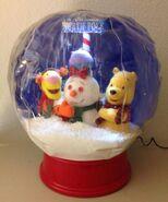 DISNEY WINNIE THE POOH Snow Globe GEMMY Airblown Inflatable in Box 3