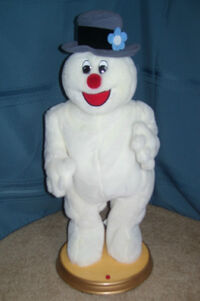Gemmy hip swinging frosty the snowman