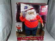 Syracuse college santa by gemmy 2000 still in box works