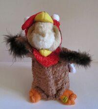 Gemmy Hamster Turkey Thanksgiving Singing Dancing 'Somebody's Watching Me'