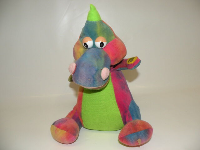 File:Gemmy singing colorful plush dinosaur.jpg