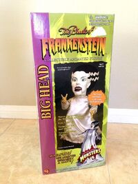 Gemmy Animated BRIDE OF FRANKENSTEIN 2001 - NEW IN BOX-ORIGINAL PACKAGING 9