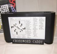 Gemmy Crossword Caddy Includes 50 Puzzles On Scrolls & Built-In Pencil Sharpener 2