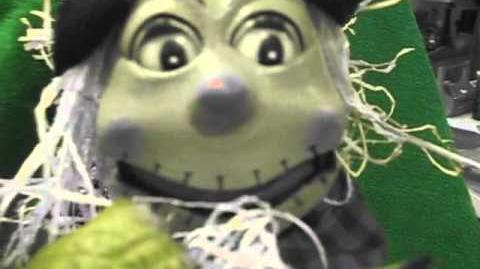 Gemmy animated Harvey the harvest scarecrow (RARE)