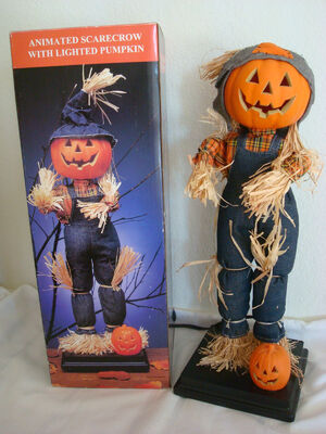 Animated electric scarecrow gemmy wiki fandom powered for Animated scarecrow decoration