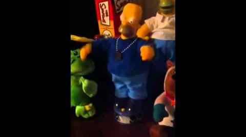 Gemmy Rapping Homer Simpson