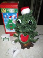 Vintage GEMMY Talking Singing Animated Dancing Douglas Fir Christmas Tree in Box