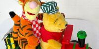 Pooh and Tigger Christmas train