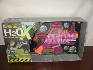 RARE 2007 GEMMY H2OX Fully Automatic Battery Operated Watergun