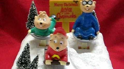 Alvin & the Chipmunks go sledding