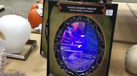 Haunted Infinity Mirror