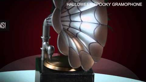 Halloween Spooky Gramophone